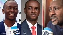 Bildkombo Succès Masra, Cabral Libii und Ibrahim Yacouba