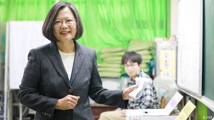 Taiwan Präsidentschaftswahl   Tsai Ing-Wen (DDP)