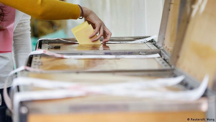 Taiwan Präsidentschaftswahlen (Reuters/A. Wang)