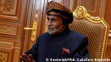 Oman Maskat | Tod von Sultan Kabus bin Said