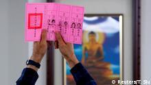 Taiwan Präsidentschaftswahl 2020 | Stimmabgabe in Taipeh