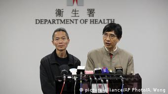 Hongkong Gesundheitsministerium | Statement Lungenkrankheit in China
