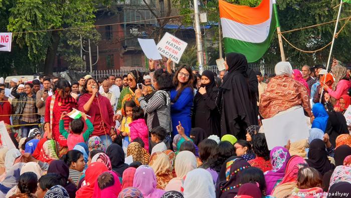 Indien Shaheen Bagh aus Kolkata