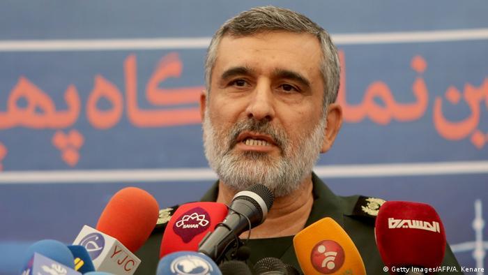 General Amir Ali Hajizadeh of Iran's Revolutionary Guard