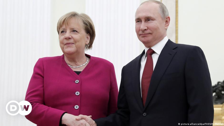 Перед візитом до Києва Анґела Меркель відвідає Москву