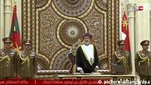 Haitham bin Tarik al Said, neuer Sultan von Oman