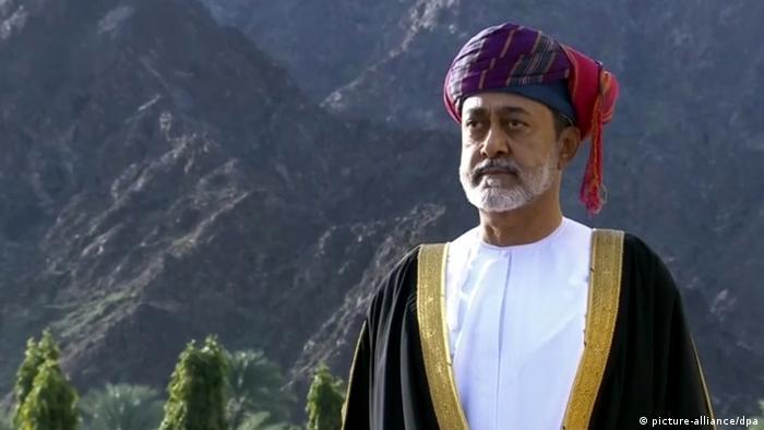 Haitham bin Tariq al Said, the new Sultan of Oman