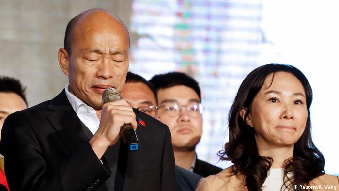 Präsidentenwahl in Taiwan Han Kou-yu
