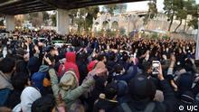 Iran Teheran, Studenten, Demo