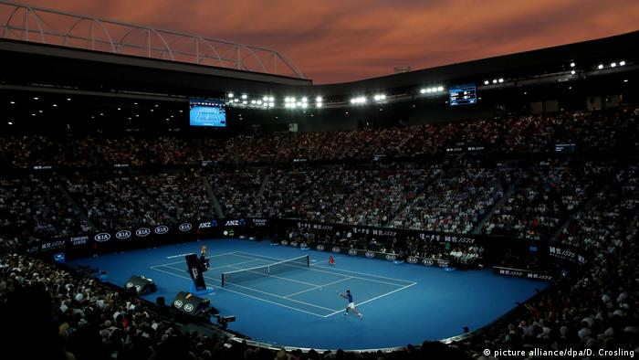 Bushfires Cast Shadow Over Australian Open Sports German Football And Major International Sports News Dw 12 01 2020