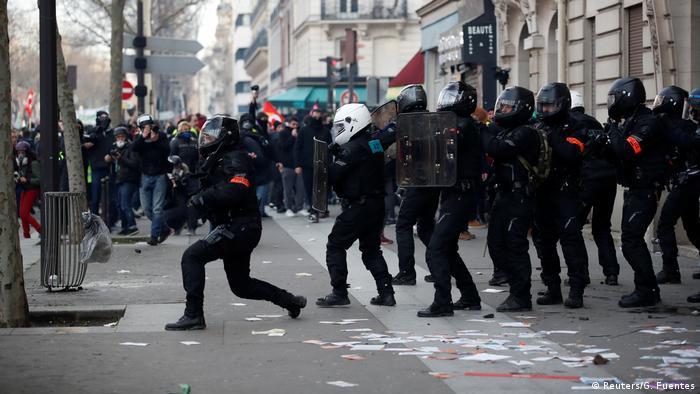 Frankreich Paris Proteste gegen Rentenreform (Reuters/G. Fuentes)