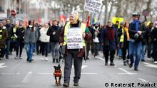 Frankreich Paris Proteste gegen Rentenreform
