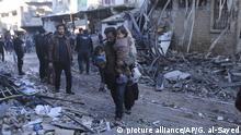 Syrien Idlib Angriffe auf syrisches Rebellengebiet