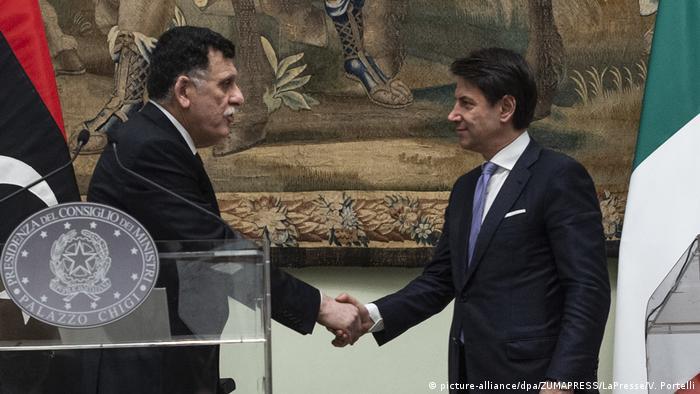 Italien | Treffen zwischen Conte und dem libyschen Premierminister Fayez al Serraj