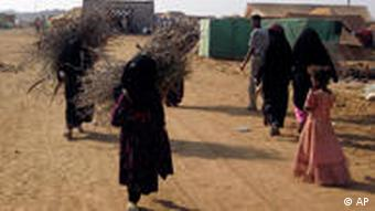 Flüchtlingslager im Jemen
