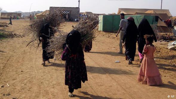Flüchtlingslager im Jemen Flash-Galerie