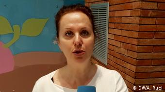 Dr. Entela Komnino | Journalistin (DW/A. Ruci)