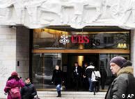 Banco UBS en Zúrich.