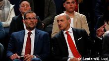 Malta Labour Partei Kandidaten Vorsitzend Robert Abela Chris Fearne