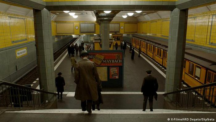 Babylon Berlin still of interior of the underground station Hermannplatz (X-Filme/ARD Degeto/Sky/beta)