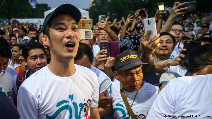 Лидер оппозиции в Таиланде Тханатхорн Чуангрунгруангкит