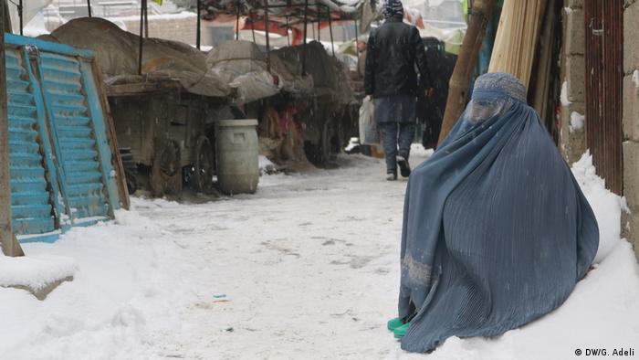Afghanistan Winter | Schnee in Kabul (DW/G. Adeli)
