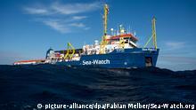Rettungsboot Sea-Watch 3 auf See