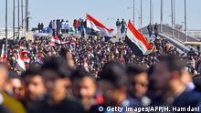 Iran Najaf   Anti-Regierungsdemonstration