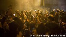Iran Teheran | Proteste wegen des Abschusses der ukrainischen Passagiermaschine durch das iranische Militär