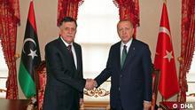 Türkei | Libyen | Erdogan | al-Sarradsch