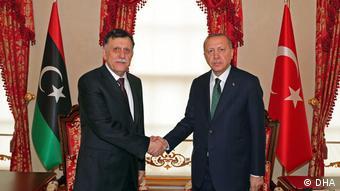 Η συμφωνία Αλ-Σαράτζ-Ερντογάν προβλέπει την αποστοή τουρκικών όπλων και στρατιωτών