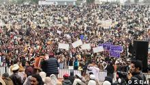 Pakistan | Öffentliche Kundgebung der Bürgerrechtsgruppe PTM