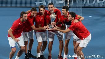 Australien | ATP Cup in Sydney | Serbien | Novak Djokovic