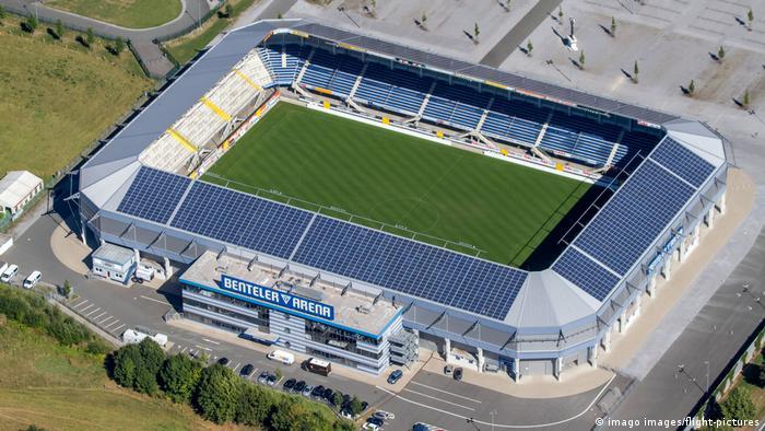 Deutschland   Fußball   Benteler Arena   Stadion des SC Paderborn (imago images/flight-pictures)