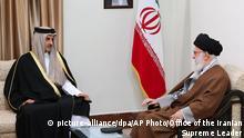 Iran | Tamim bin Hamad Al Thani und Ali Khamenei