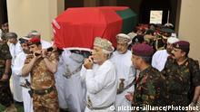 Oman | Muscat | Beerdigung Sultan Qaboos bin Said