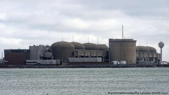Pickering nuclear plant