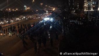 Iran | Protest gegen die Regierung in Teheran (alliance/dpa/AA/Stringer)