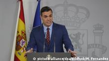 Spaniens Ministerpräsident Pedro Sanchez