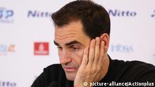 Großbritannien Roger Federer Pressekonferenz in London