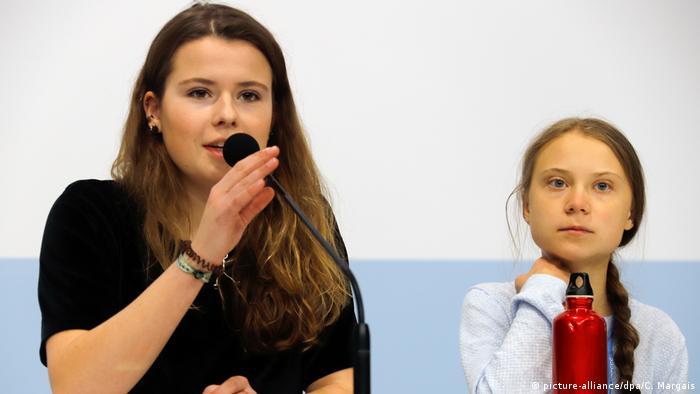 Луиза и Грета на конференции по климату в Мадриде
