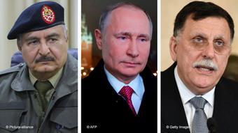 Хафтар, Путин и Саррадж