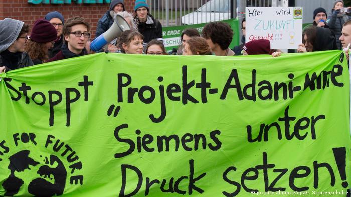 Protesty w Hanowerze (10.01.2020)