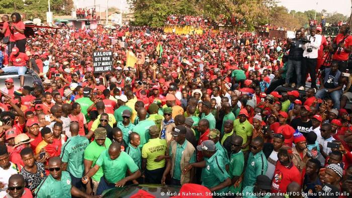 L'opposition redoute un troisième mandat du chef de l'Etat guinéen