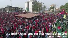 Guinea Oppositionsdemonstrationen in Conakry