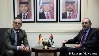 Jordanien Amman | Heiko Maas, Bundesaußenminister & Ayman Safadi, Außenminister