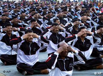 भारतीय सेना में भी योग होता है
