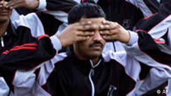 BdT Yoga in der indischen Armee