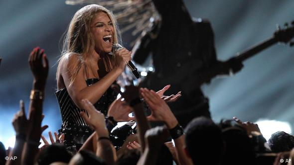 Grammy Awards in Los Angeles Beyonce Flash-Galerie