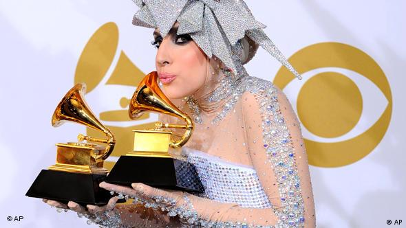Grammy Awards in Los Angeles Lady Gaga Flash-Galerie
